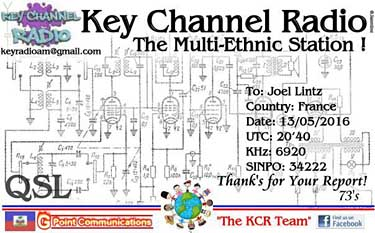 qsl key channel radio pirate sw
