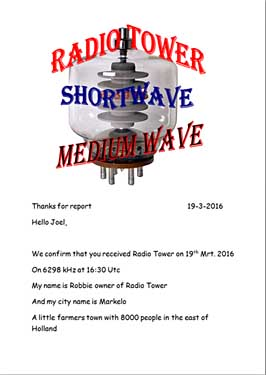 qsl radio tower pirate sw
