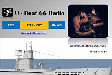 eQSL radio U Boat 66 pirate sw
