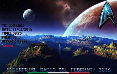 qsl enterprise radio pirate sw
