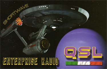 qsl card enterprise radio pirate sw