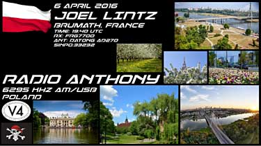 eqsl car radio anthony pologne pirate sw usb