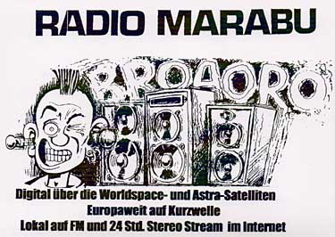 qsl card radio marabu pirate SW
