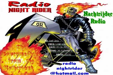 eQSL radio night rider pirate sw