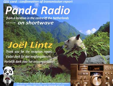 eQSL radio panda pirate sw