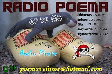 eQSL radio Poema free radio pirate mw