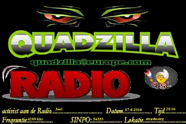 eQSL radio quadzilla pirate sw