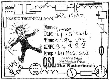 eQSL radio technical man pirate mw om