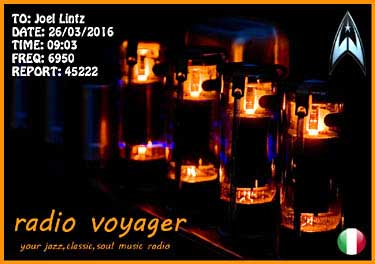 qsl radio voyager pirate sw