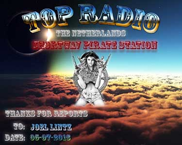qsl top radio nl pirate sw nederland