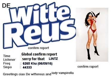 eQSL witte reus white giant pirate radio