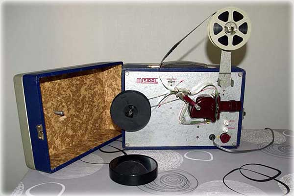 cinette mistral 16 mm projecteur