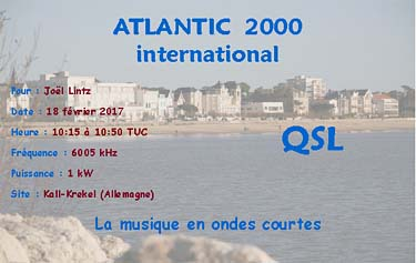 eqsl radio atlantic 2000 international sw
