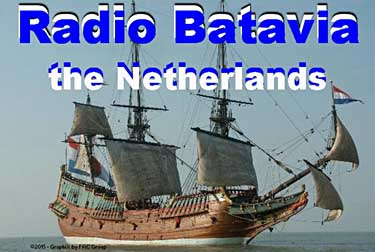 radio batavia QSL radio pirate