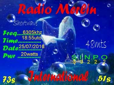qsl radio merlin radio pirate sw