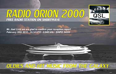 qsl radio orion 2000 pirate sw