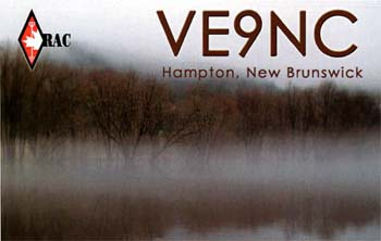 qsl VE9NC canada dx
