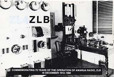 qsl station ZLB new zealand