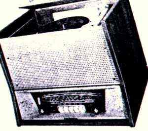 Radio-Phono Inter VI radialva
