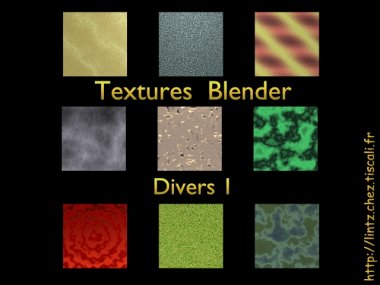 textures divers à télécharger blender - download 3d